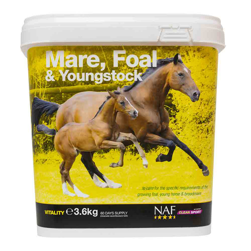 NAF Mare, Foal & Youngstock Supplement 3.6kg