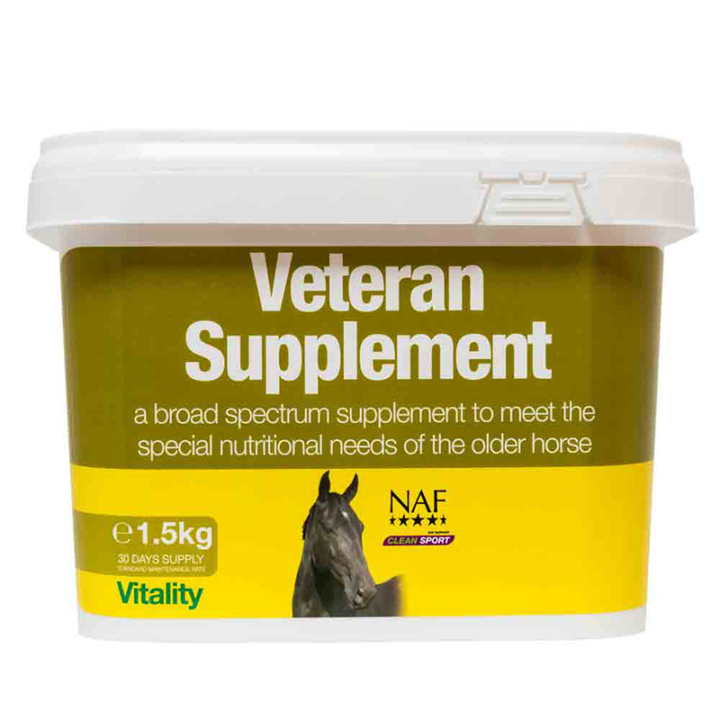 NAF Veteran Supplement 1.5kg
